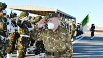 السعيد شنقريحة - قائد الجيش الجزائري - فيسبوك