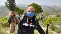 غرس أشجار جديدة للحفاظ على البيئة في تونس (فيسبوك)