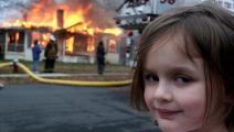 disaster girl/twitter