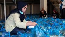 عمل تطوعي في غزة 1 (محمد الحجار)