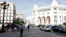 مبنى البريد المركزي وسط العاصمة الجزائرية