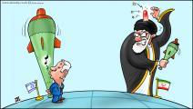 كاريكاتير ايران واسرائيل / حجاج