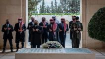 سياسة/العاهل الأردني وعدد من الأمراء بينهم الأمير حمزة/(الديوان الملكي)