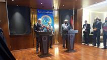 القطراني - وزير خارجية اليونان - بنغازي - تويتر