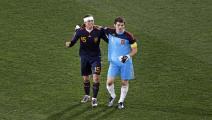 Casillas and ramos 2010