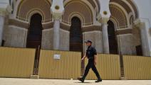 مبنى البريد المركزي في الجزائر (رياض كرامدي/ فرانس برس)