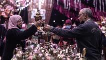 رمضان وسط كورونا في مصر (الأناضول)