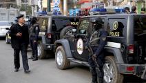 عناصر من الشرطة المصرية (فرانس برس)