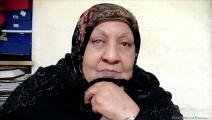 اللاجئة الفلسطينية زهية الأحمد (العربي الجديد)