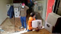 مساعدات في مخيم عين الحلوة (العربي الجديد)