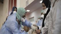 داحل مركز صحي في المغرب (جلال مرشدي/ الأناضول)