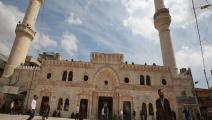 مساجد الأردن تتأثر بحظر التجول (خليل مزرعاوي/ فرانس برس)