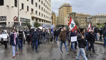 احتجاجات شعبية في ميدان بيروتتطالب بتأليف حكومة في لبنان
