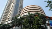 مبنى بورصة بومباي في الهند