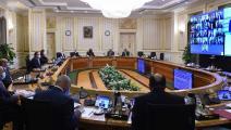 اجتماع مجلس الوزراء المصري (فيسبوك)