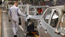 مصنع سيارات فولكسفاغن في ألمانيا