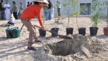 حديقة القرآن النباتية في قطر قبل كورونا 1 (حديقة القرآن النباتية)
