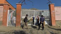 استهداف مدرسة في أفغانستان (وكيل خضر/ فرانس برس)
