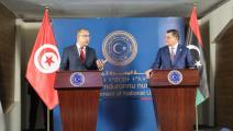 تونس وليبيا مؤتمر صحافي