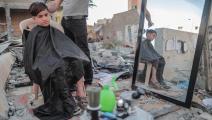 حلاق فلسطيني في غزة - القسم الثقافي