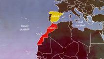مقالات خريطتا المغرب وإسبانيا