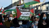 مظاهرة تضامن مع فلسطين في برلين، 19 أيار/ مايو الجاري (Getty)