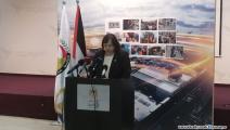 وزيرة الصحة الفلسطينية في مؤتمر صحافي (العربي الجديد)