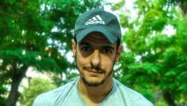 الشاب السوري الليث مبيض تعرض لحملة من مؤيدين للنظام (فيسبوك)