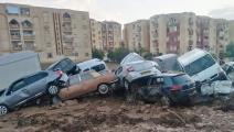 خلفت فيضانات الجزائر خسائر مادية كبيرة (فيسبوك)
