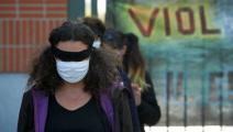 تزايد العنف ضدّ النساء في فرنسا في السنوات الأخيرة (ألان بيتون/ Getty)