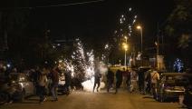 الاحتلال يقمع تظاهرة ضد تهجير حيّ الشيخ جراح(الأناضول)