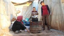 نازحون سوريون (العربي الجديد)