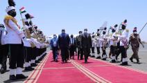 سياسة/رئيس الكونغو في الخرطوم/(تويتر)