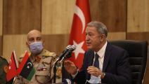 ليبيا/خلوصي أكار/وزارة الدفاع التركية/تويتر