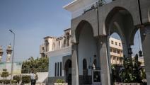 مدخل جامعة الأزهر (خالد دسوقي/ فرانس برس)
