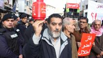 احتجاج في الأردن ضد استيراد الغاز من إسرائيل/ الأناضول