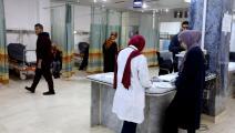في أحد مستشفيات طرابلس (محمود تركية/ فرانس برس)