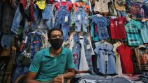 سوق ملابس في العراق/ فرانس برس