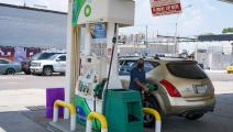محطة وقود في الولايات المتحدة/Getty