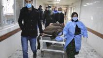في أحد مستشفيات العراق (صباح عرار/ فرانس برس)