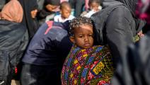 هجرة غير شرعية ــ ليبيا (فرانس برس)