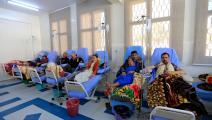 مرضى سرطان في اليمن (محمد حويس/ فرانس برس)