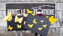 لاجئون في إيطاليا يتضامنون مع أقرانهم في بلدان أخرى (Getty)