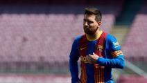 """""""سبورت"""" الكتالونية: بدء المفاوضات لتجديد عقد ميسي مع برشلونة"""