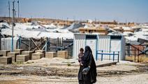 مخيم الهول في سورية 1 (دليل سليمان/ فرانس برس)