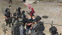 من مواجهات القدس (مصطفى الخروف/ الأناضول)