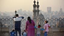 عائلة مصرية في مصر (جيف أوفرز/ Getty)