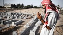 يعتبر التيار السلفي في ليبيا القبور أوكارًا للشعوذة (جون كانتلي/Getty)