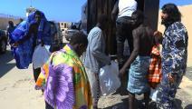تكرر إنقاذ المهاجرين قبالة السواحل الليبية (محمود تركية/فرانس برس)