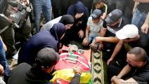 تشييع الشهيد افلسطيني أحمد عبدو (العربي الجديد)